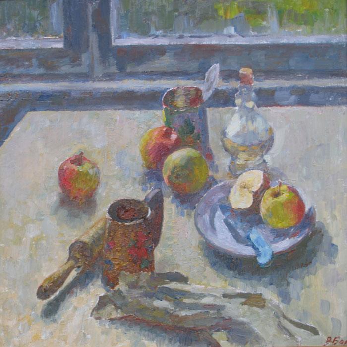 Натюрмлртс-яблоками50х501999
