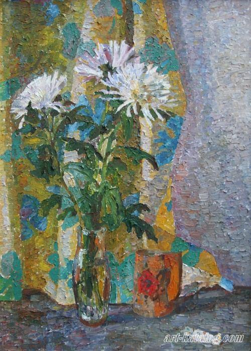 Хризантемы70х50
