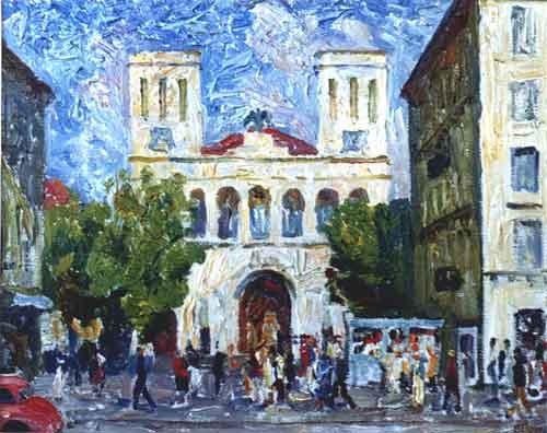 лютеранская церковь на невском40х50