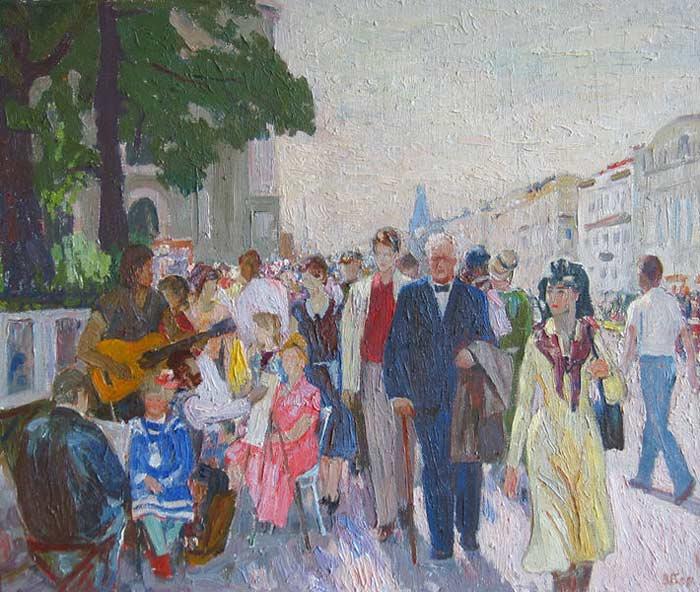 невский-проспект1989г