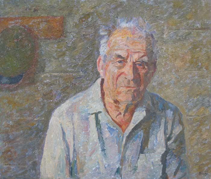 071-Портрет-отца-60х701991