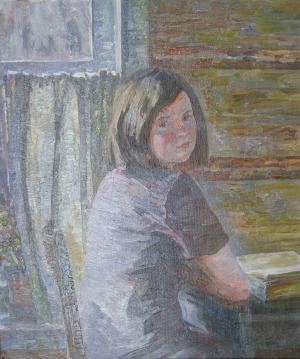 078-Деревенская-девушка-70х60-1987